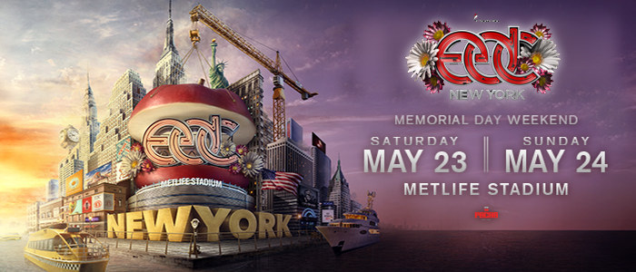 Electric Daisy Carnival (New York) [EDC] Mixes – Day 1 (5/23/2015) [Downloads]